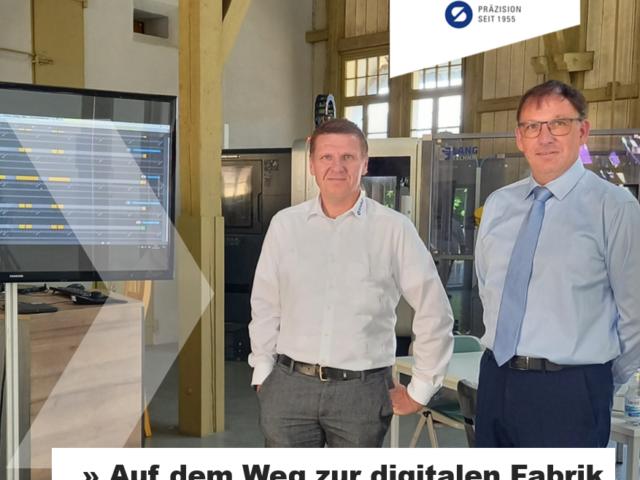 Treffen mit Evo_Digitale Fabrik